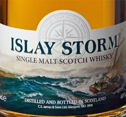 Islay Storm Single Malt Scotch Whiskey