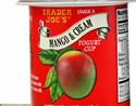Trader Joe's Mango & Cream Yogurt