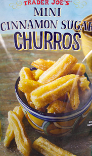Trader Joe's Mini Cinnamon Sugar Churros
