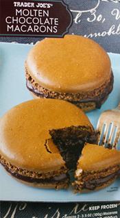 Trader Joe's Molted Chocolate Macarons