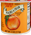 Trader Joe's Peaches & Cream Yogurt
