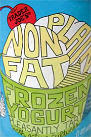 Trader Joe's Plain Nonfat Frozen Yogurt