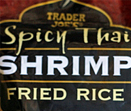 Trader Joe's Spicy Thai Shrimp Fried Rice