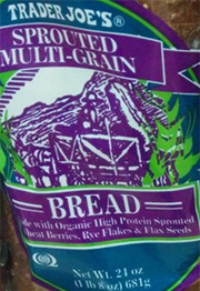 Trader Joe's California Style Sprouted Multi-Grain Bread