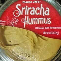 Trader Joe's Sriracha Hummus
