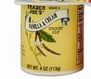 Trader Joe's Vanilla & Cream Yogurt