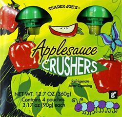 Trader Joe's Applesauce Crushers