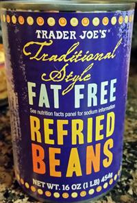Trader Joe's Fat Free Refried Beans