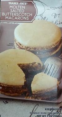 Trader Joe's Molten Salted Butterscotch Macarons