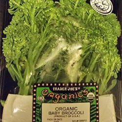 Trader Joe's Organic Baby Broccoli