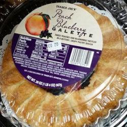 Trader Joe's Peach Blueberry Galette