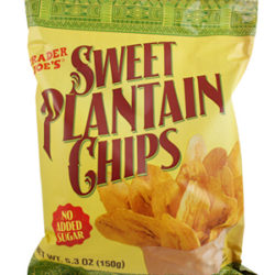 Trader Joe's Sweet Plantain Chips