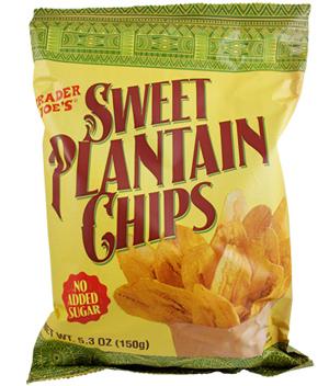 Trader Joe's Sweet Plantain Chips