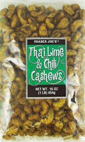 Trader Joe's Thai Lime & Chili Cashews