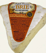 Trader Joe's Triple Cream Brie with Wild Mushrooms