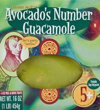 Trader Joe's Avocado's Number Guacamole