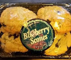 Trader Joe's Blueberry Scones