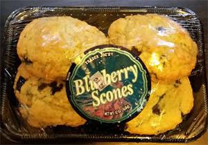 Trader Joe's Blueberry Scones