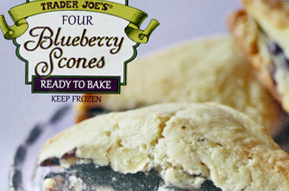 Trader Joe's Frozen Blueberry Scones