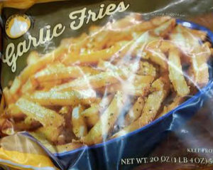 Trader Joe's Frozen Garlic Fries