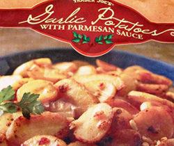 Trader Joe's Garlic Potatoes with Parmesan Sauce