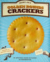 Trader Joe's Golden Rounds Crackers