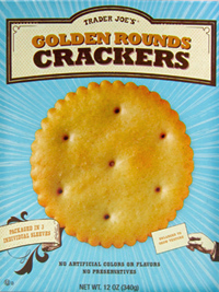 Trader Joe's Golden Rounds Crackers Reviews