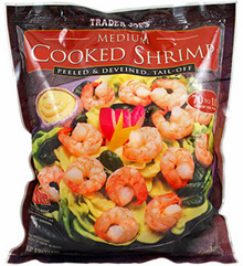 Trader Joe's Frozen Medium Cooked Shrimp