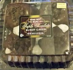 Trader Joe's Mini Triple Chocolate Bundt Cakes
