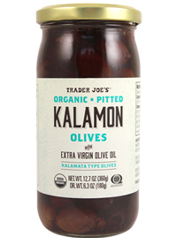 Trader Joe's Organic Pitted Kalamon Olives