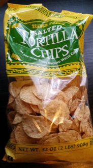 Trader Joe's Salted Tortilla Chips