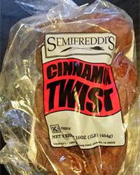 Semifreddi's Cinnamon Twist