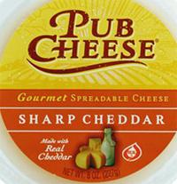 Trader Joe's Sharp Cheddar Pub Cheese
