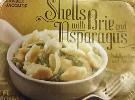 Trader Joe's Shells with Brie and Asparagus Reviews