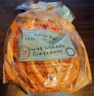 Trader Joe's Swiss Cheese Croissants