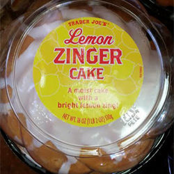 Trader Joe's Lemon Zinger Cake