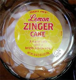 Trader Joe's Lemon Zinger Cake