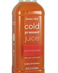 Trader Joe's Cold Pressed Cantaloupe Juice