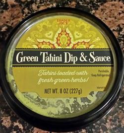 Trader Joe's Green Tahini Dip and Sauce
