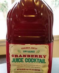 Trader Joe's Low Calorie Cranberry Juice Cocktail