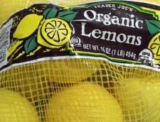 Trader Joe's Organic Lemons