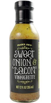 Trader Joe's Sweet Onion & Bacon Vinaigrette Dressing