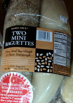 Trader Joe's Two Mini Baguettes