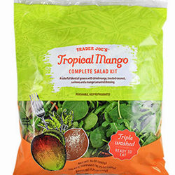 Trader Joe's Tropical Mango Complete Salad Kit