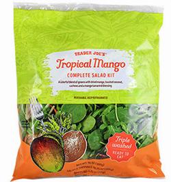 Trader Joe's Tropical Mango Complete Salad Kit