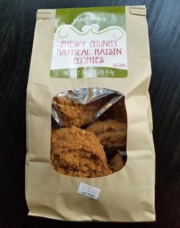 Trader Joe's Chewy Chunky Oatmeal Raisin Cookies