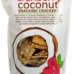 Trader Joe's Cranberry Coconut Snacking Crackers