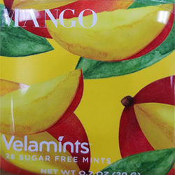 Mango Veltamints Sugar-Free Mints