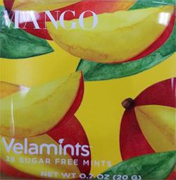 Mango Veltamints Sugar-Free Mints