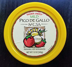 Trader Joe's Mild Pico de Gallo Salsa